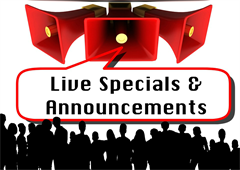 Announcements & Specials App for your website